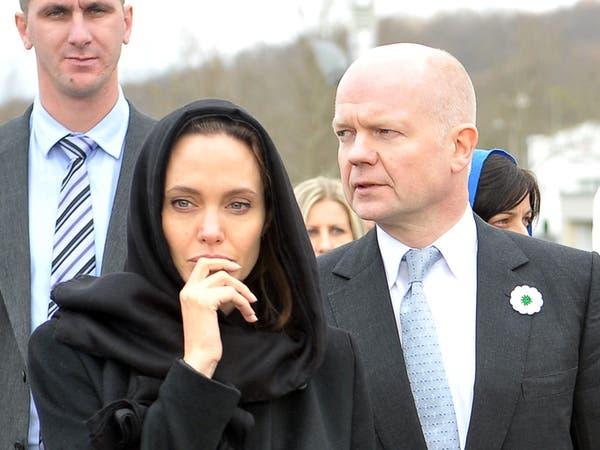 أنجلينا جولي تدعو في سربرينتسا لمكافحة العنف الجنسي