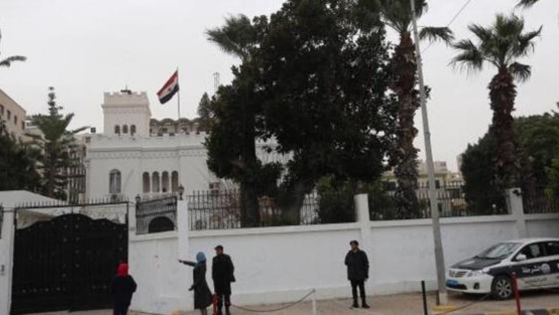 السفارة المصرية في طرابلس