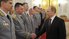 """بوتين: أحداث القرم أظهرت """"قدرات جديدة"""" للجيش الروسي"""