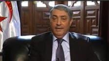 Algerian presidential candidate Ali Benflis talks politics