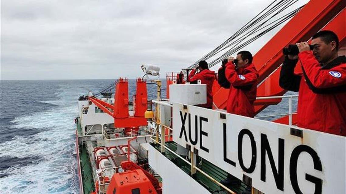 سفن صينية تبحث عن الطائرة الماليزية
