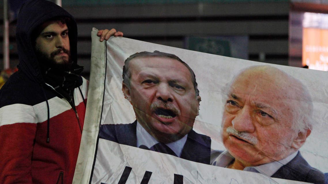 Erdogan and Gulen (Reuters)