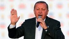 Erdogan 'sounds like rooster' in screech speech