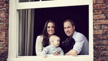 Kate & Wills release new photo with baby Prince George