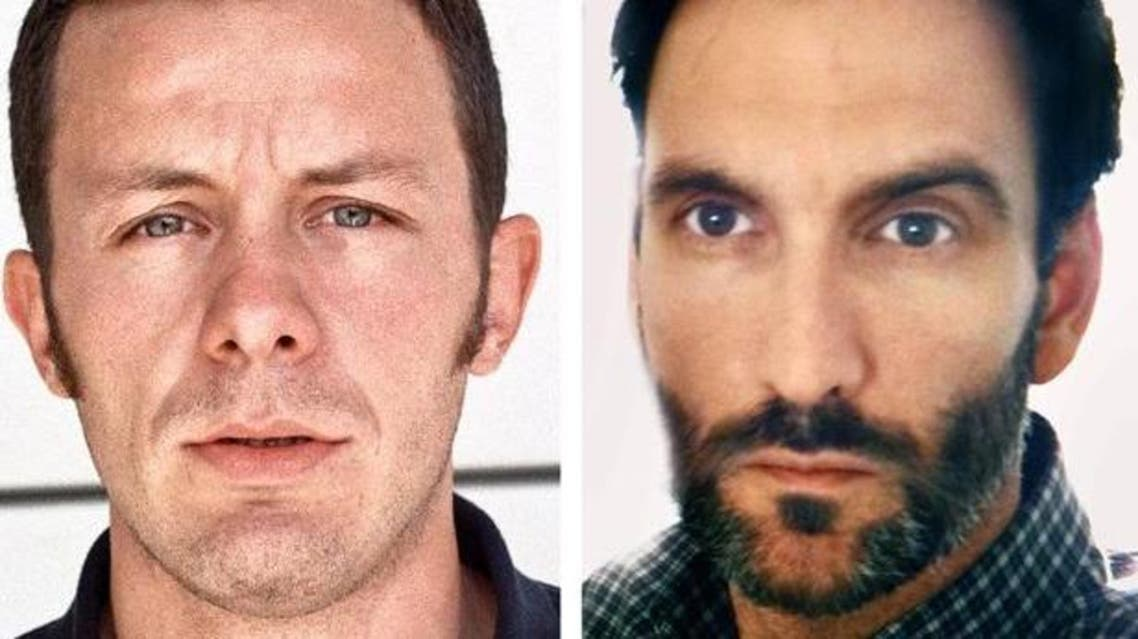 Javier Espinosa (L) and Ricardo Garcia-Vilanova were seized at a checkpoint near the Turkish border as they tried to exit Syria. (Courtesy: AP)