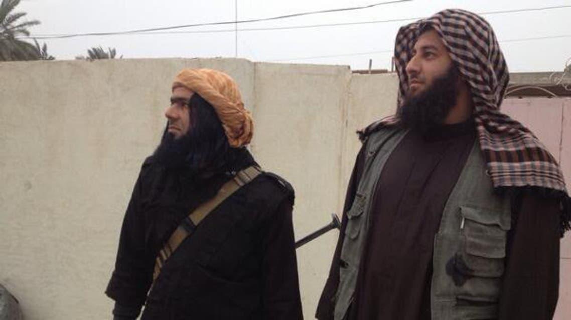 شاكر وهيب و أبو عبد الرحمن الكويتي من داعش الفلوجة العراق الأنبار الرمادي