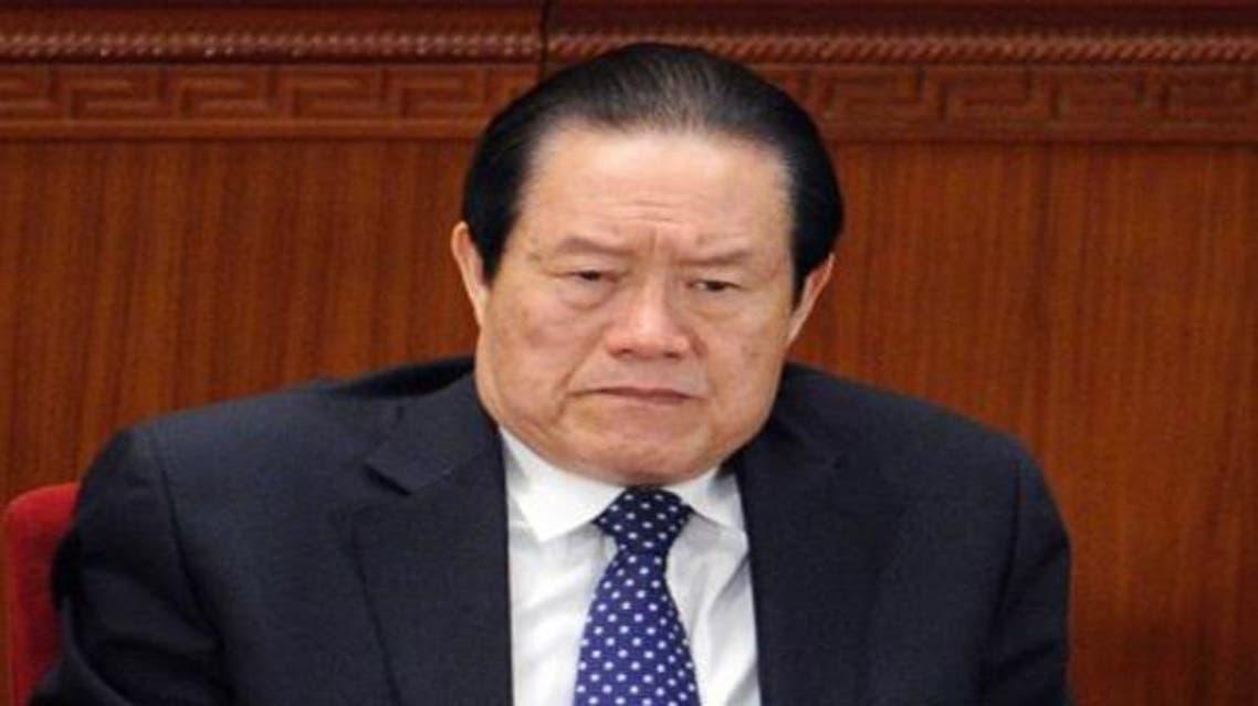 تشو يونغ كانغ المسؤول الأمني الكبير المتقاعد