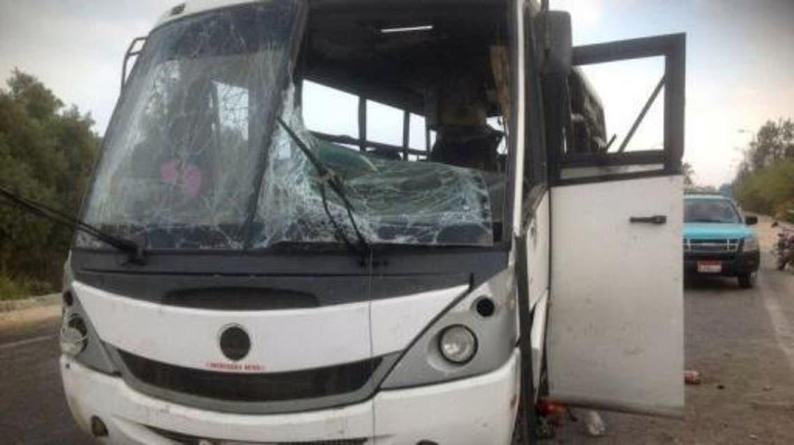 هجوم على حافلة في سيناء