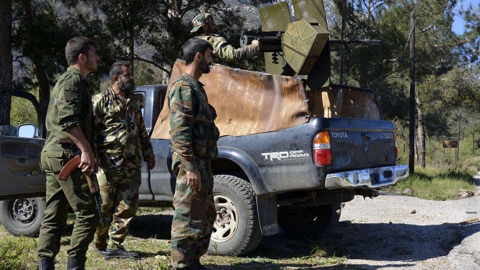 الحر يستهدف تعزيزات النظام المتوجهة من إدلب للاذقية