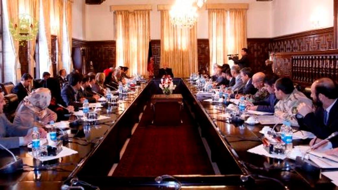 جلسه شورای امنیت افغانستان