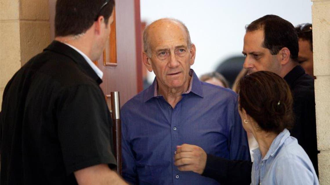 رئيس الوزراء السابق إيهود أولمرت