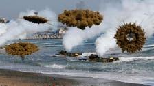 North and South Korea trade fire across border