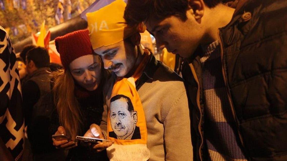 Turks celebrate Erdogan's party victory