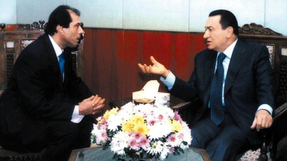 مبارك والدقاق خلال حديث صحفى