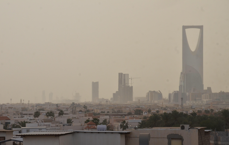 عاصفة ترابية ع الرياض