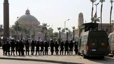 On campus in Egypt, a heavy security clampdown