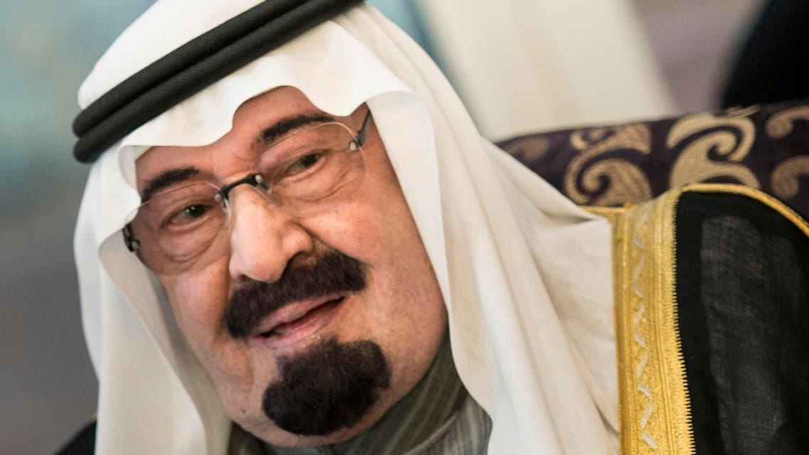 king abdullah saudi reuters