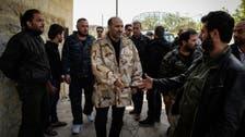 Syrian opposition chief makes rare Latakia trip
