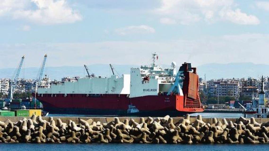 برلين ترسل فرقاطة لحماية سفينة تدمير كيمياوي سوريا