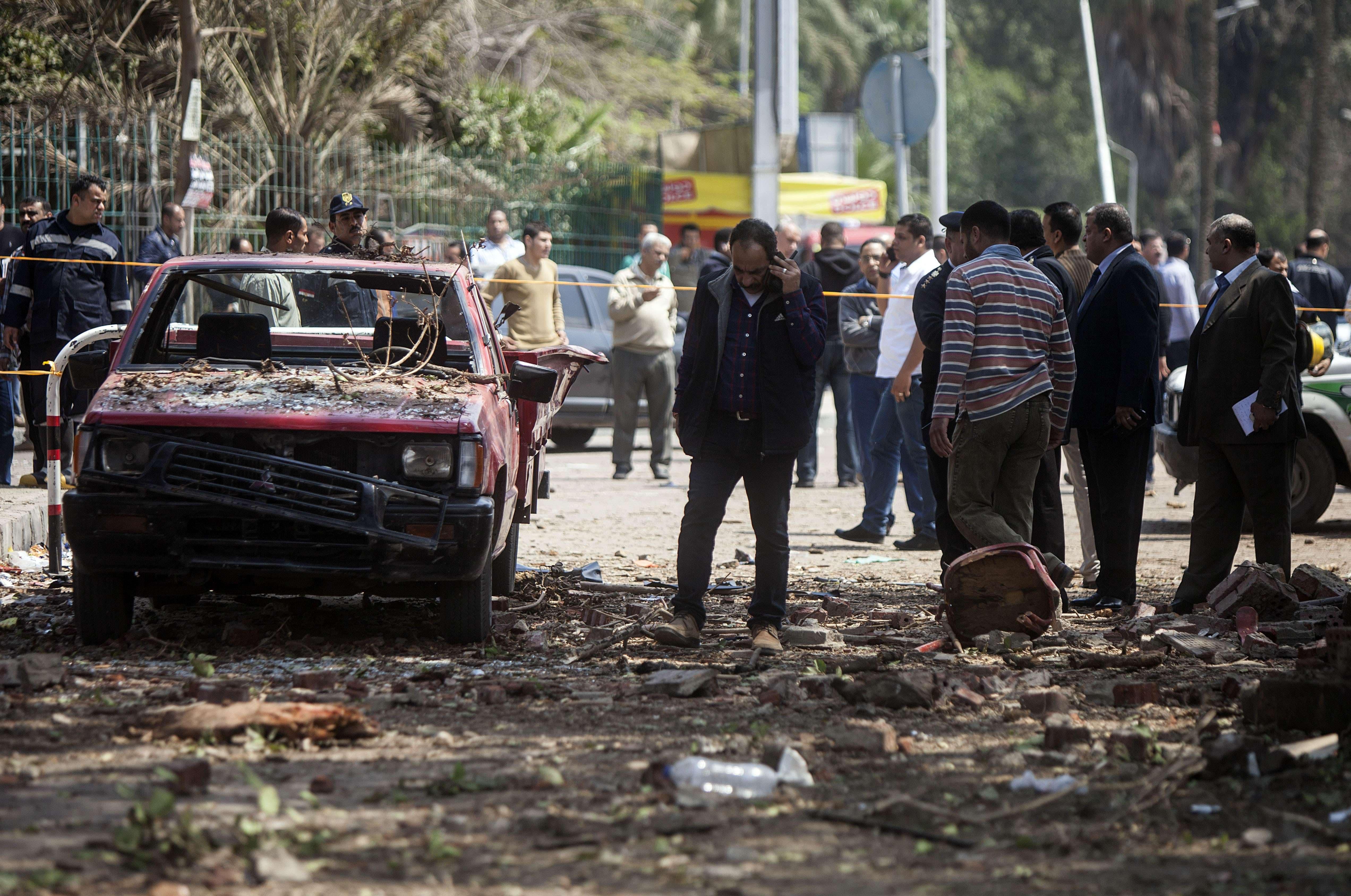 Blasts at Cairo University