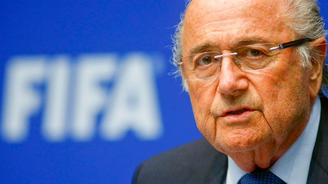 FIFA President Sepp Blatter addresses a news conference after a meeting of the FIFA executive committee in Zurich March 21, 2014. (Reuters)