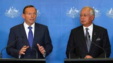Malaysian PM visits Australian base for jet search