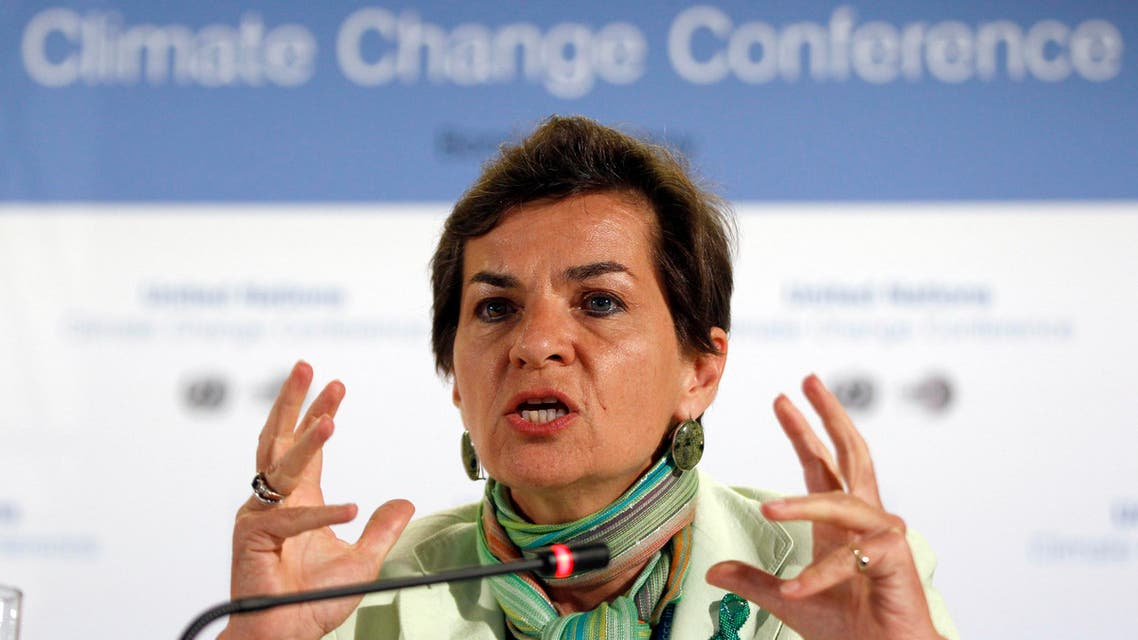 Christiana Figueres climate chief reuters