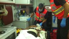 إصابة 5 أشخاص بعد سقوط مسكنهم عليهم