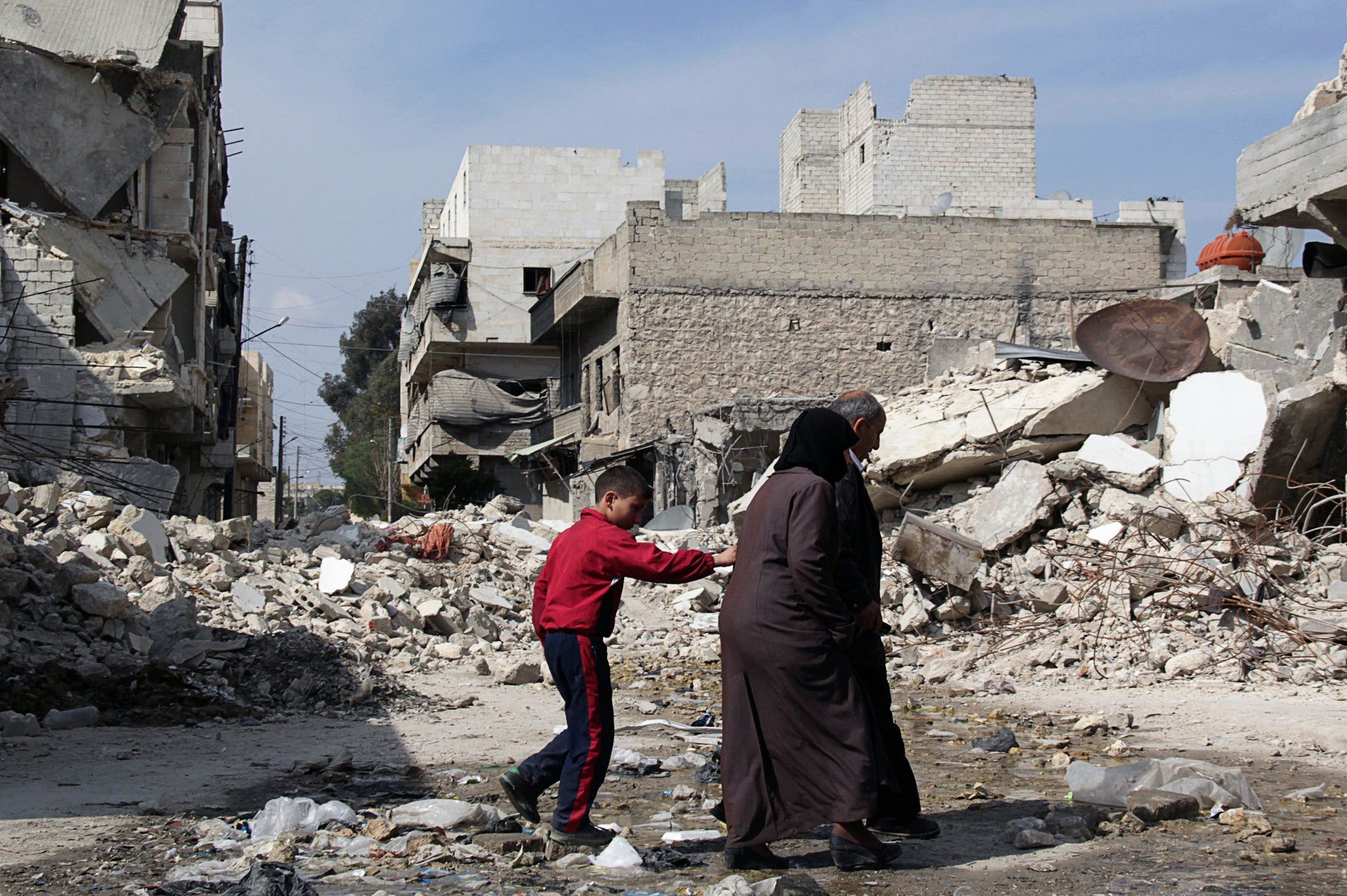 تدمير دمار سورية سوريا