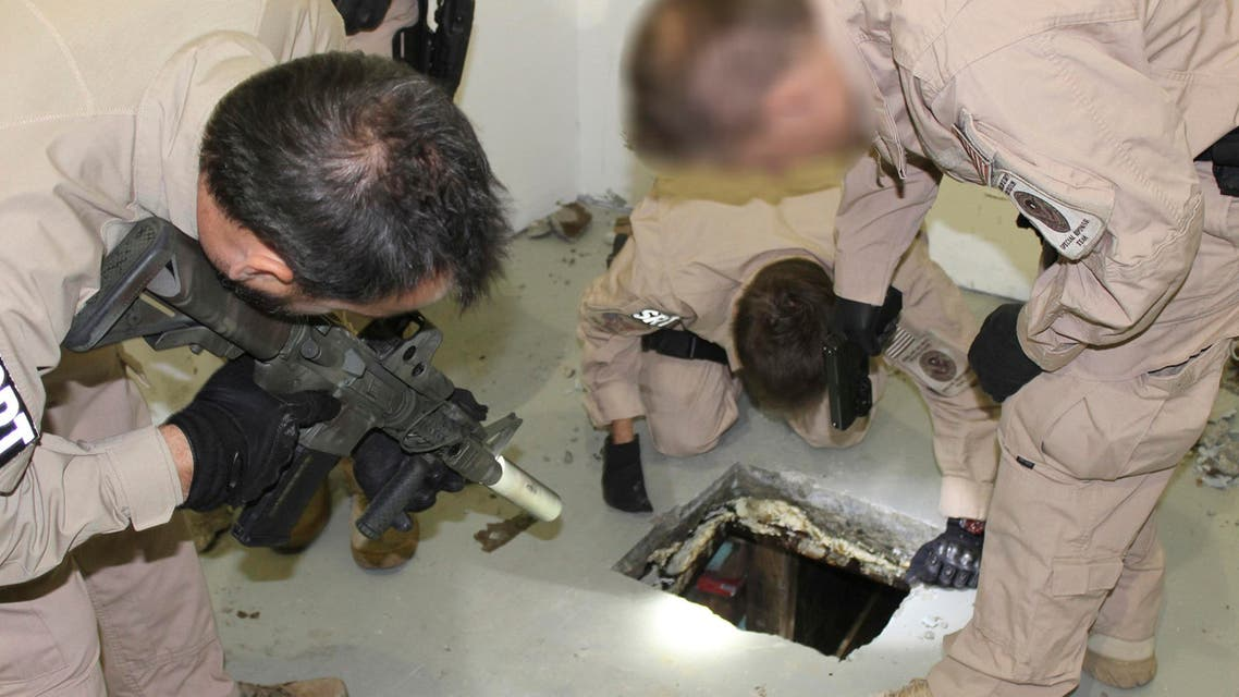 نفق لتهريب المخدرات بين المكسيك وأميركا