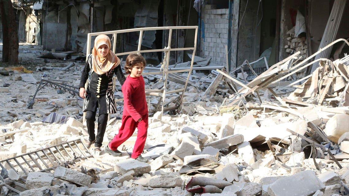 تدمير سوريا سورية اطفال