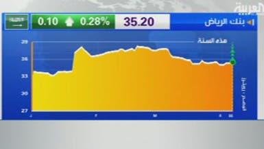 أرباح بنك الرياض تتخطى المليار ريال بزيادة 13%