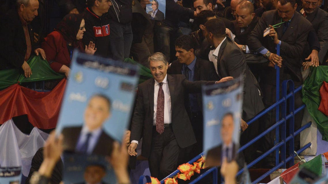 Bouteflika's main opponent bids for Algerian presidency