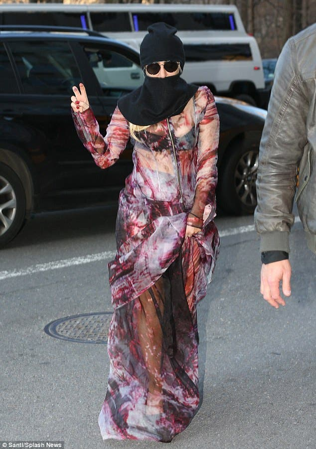Poker Face No More Lady Gaga Dons The Veil Al Arabiya News