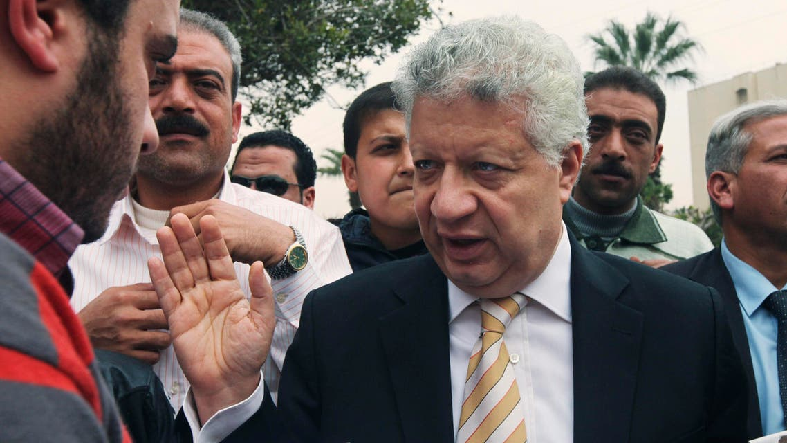 Egyptian presidential candidate hopeful and lawyer Mortada Mansour reuters