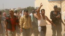 U.N. alarmed by deadly Syrian protest in Jordan camp