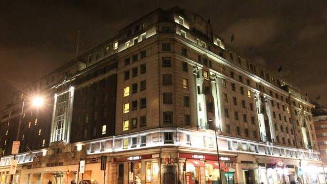 فندق في لندن حيث وقع الاعتداء بمطرقة على 3 امارتيات