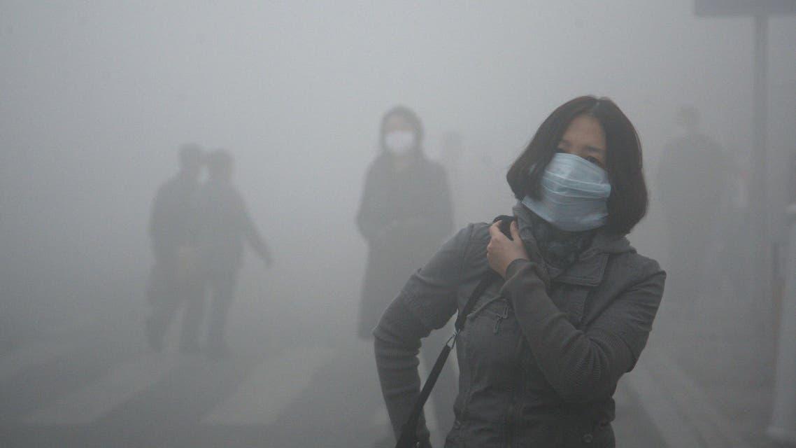 الضبخان التلوث في الصين