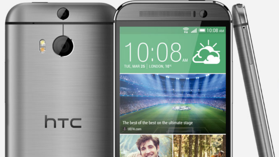 HTC has high aspirations for the HTC One M8 and hopes it will replicate the success of its predecessor. (Image courtesy: HTC)
