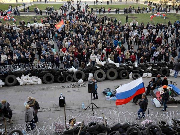 انسحاب روسي من الحدود مع أوكرانيا ودخول شيشاني شرقا