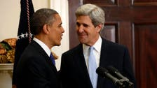 Obama meets Kerry on fate of peace talks