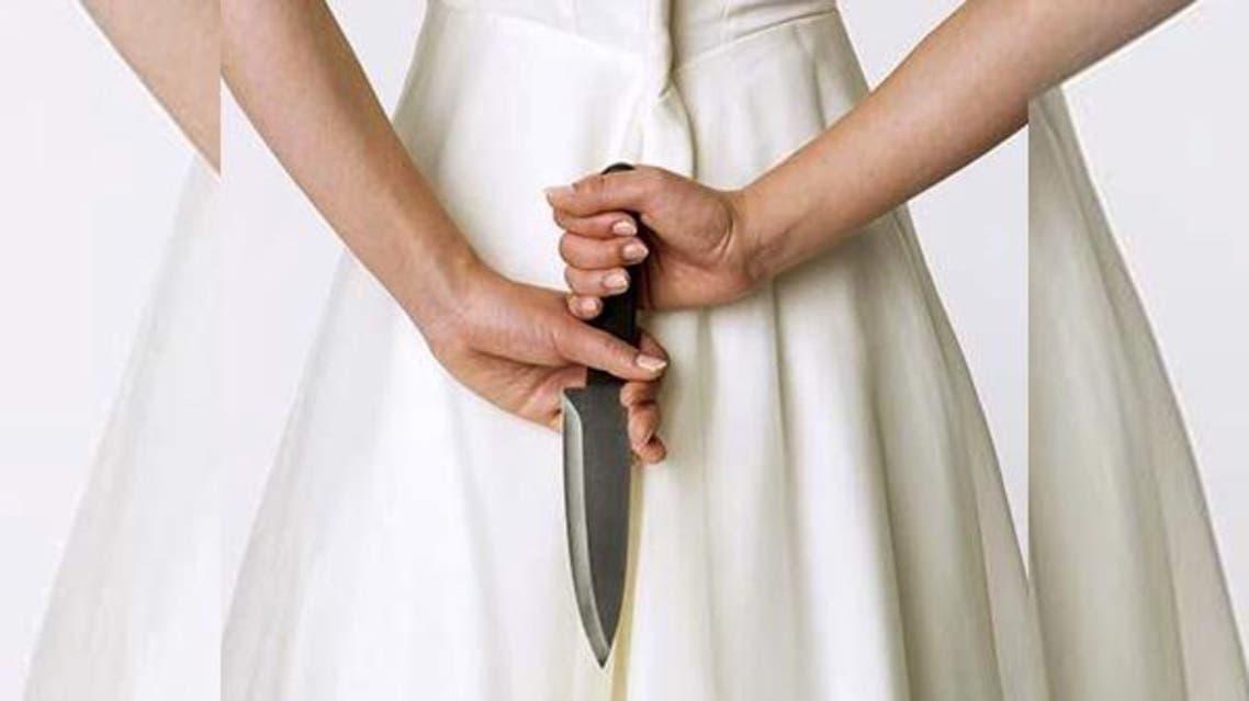 امرأة تقتل زوجها