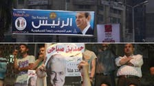 فنانو مصر منقسمون حول تأييد السيسي أو صباحي