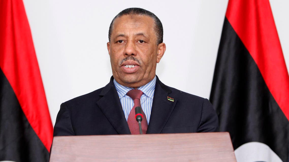 libya acting prime minister reuters