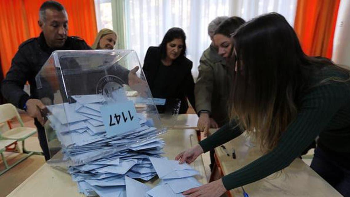 عمليات فرز الاصوات في الانتخابات البلدية في أنقرة في تركيا