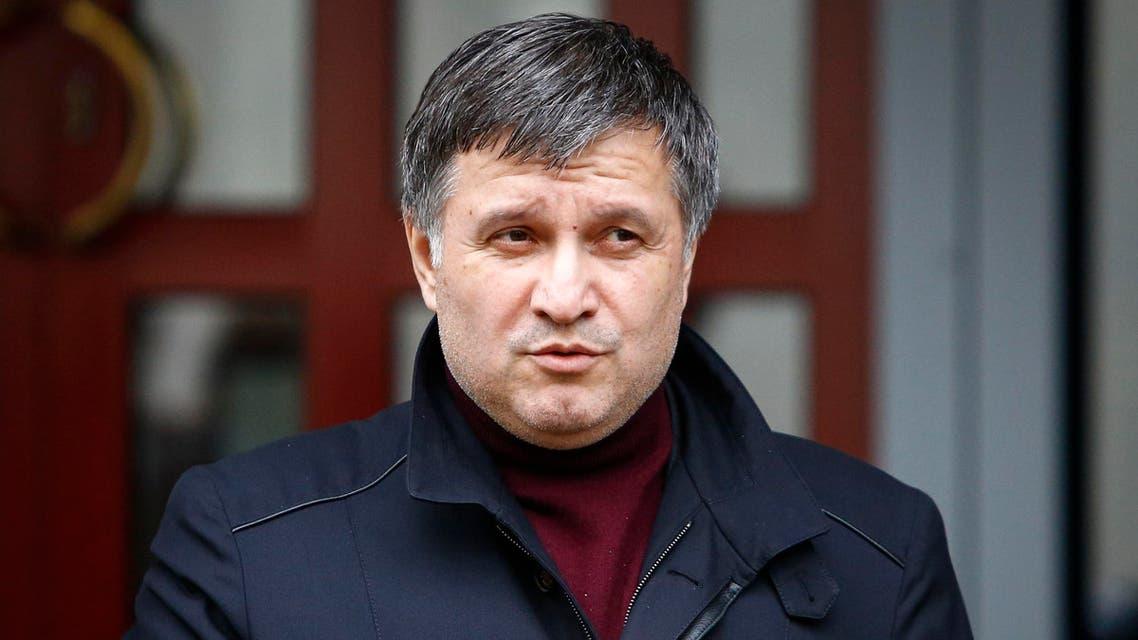 وزير الداخلية الأوكراني أرسين أفاكوف