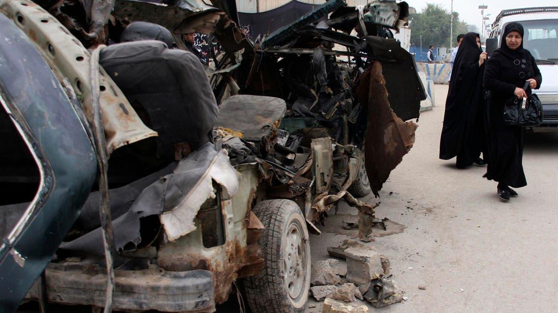 iraq car bomb reuters