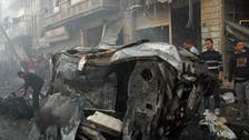 Blasts in central Syria city of Homs kill 25