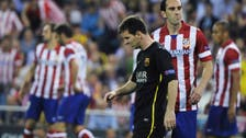Atletico stuns Barca and claim last-four berth