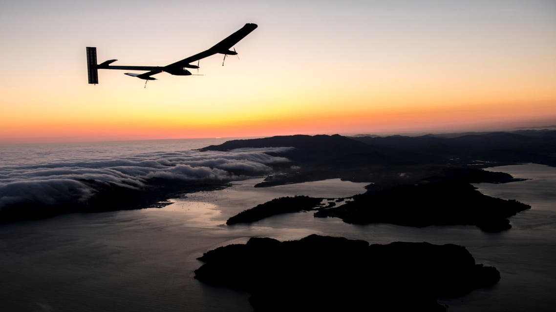 The Swiss team broke eight world records for their Solar Impulse 1 flight, which crossed two continents. (Image courtesy: Solar Impulse)